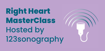 Right Heart MasterClass Hosted by 123sonography